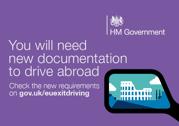 you need new documentation to drive abroad